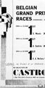 <b>1930s Belgian Grand Prix</b> <br/> Castrol Oil Advertising 1930s