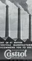 <b>Castrol British Manafactrers</b> <br/> Castrol Oil Advertising 1930s