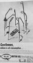 <b>DUCKHAMS OIl gents</b> <br/> Duckhams Oil Advertising from the 1960s