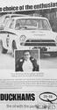 <b>DUCKHAMS Q20 50 Oil lotus cortina</b> <br/> Duckhams Oil Advertising from the 1960s