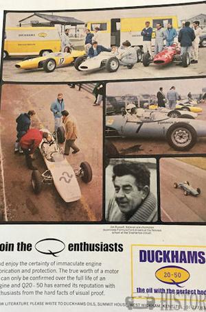 <b>DUCKHAMS Q20 50 Oil formul-ford</b> <br/> Duckhams Oil Advertising from the 1960s
