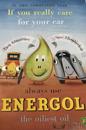 <b>BP 1953 energol oiliest oil</b> <br/> BP Advertising from the 1950s