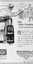 <b>BP 1923 best assistance</b> <br/> BP Company Advertising 1920s