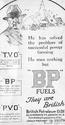 <b>BP 1923 successful power</b> <br/> BP Company Advertising 1920s
