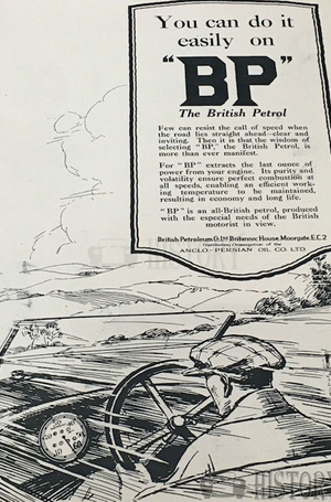 <b>BP 1924 do it on bp</b> <br/> BP Company Advertising 1920s