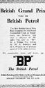 <b>BP 1926 grand prix brooklands</b> <br/> BP Company Advertising 1920s
