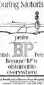 <b>BP 1927 obtainable everywhere</b> <br/> BP Company Advertising 1920s
