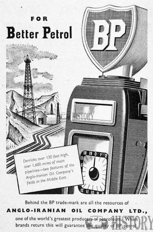 <b>BP 1950 BETTER PETROL</b> <br/> BP Advertising from the 1950s