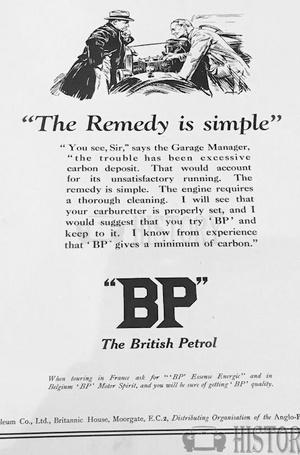 <b>BP smple remedy 1926</b> <br/> BP Company Advertising 1920s