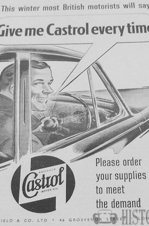 <b>CASTROL OIL magazine 1951</b> <br/> Castrol Oil Advertising 1950s