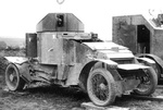 Lanchester 4x2 Armoured Car (1914-1916)