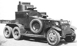 Lanchester 6x4 Armoured Car (1928-1934)