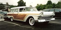 Ford Country Squire 3rd gen (1955–1959)