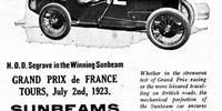 Sunbeam Grand Prix car (1923)