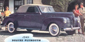Plymouth Deluxe P10, P11, P12  (1940-1941)
