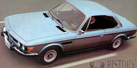 BMW CS E9 six coupe (1968-1975)