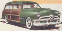 Ford Country Squire 1st gen (1950–1951)