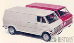 Ford Econoline Van 2nd gen (1968-74)