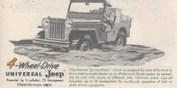Jeep CJ 3a 3b 4 Willys (1949-68)