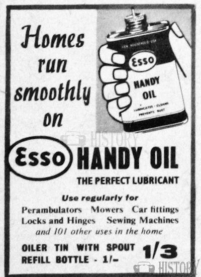 <b>1950s Esso</b> <br/> ESSO Advertising from the 1950s