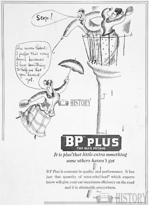 <b>bp 1932 quality</b> <br/> British Petroleum  Advertising 1930s