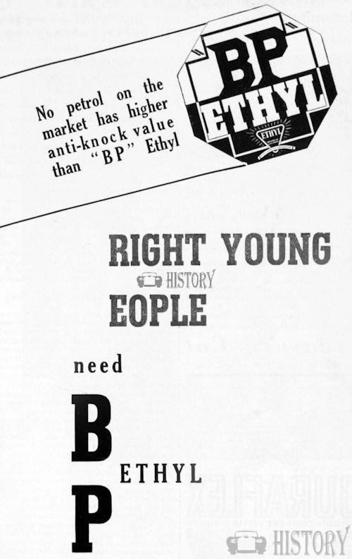 <b>bp 1935 bright young people</b> <br/> British Petroleum  Advertising 1930s