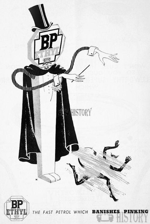 <b>bp 1937 magic banish pinking</b> <br/> British Petroleum  Advertising 1930s