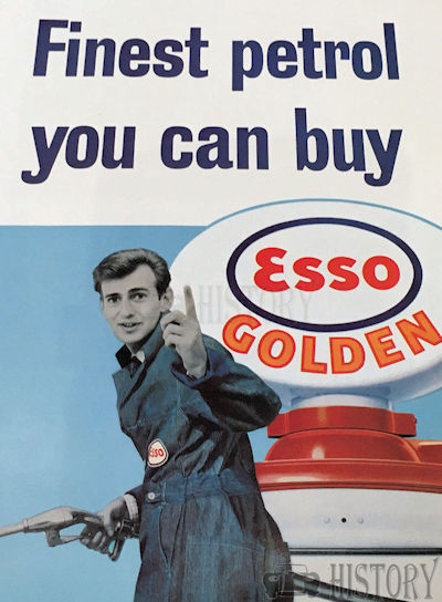 <b>Esso Golden 1960 Advertising</b> <br/> ESSO Advertising from the 1960s