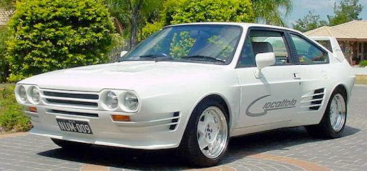 Australian Automotive manufacturer Caloundra , Queensland Australia From 1986 to 1989