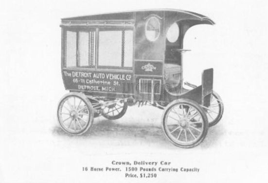 Crow (Detroit Auto Vehicle Company) Automotive manufacturer of Detroit, Michigan,United States from 1904 to 1907.
