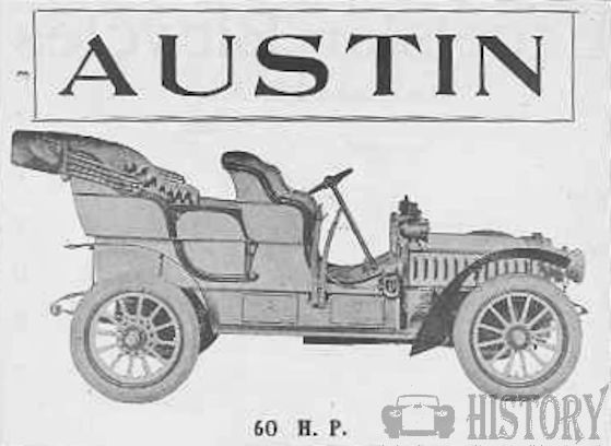 Austin Automobile Company American Automotive manufacturer Grand Rapids, Michigan USA  from 1902 to 1921