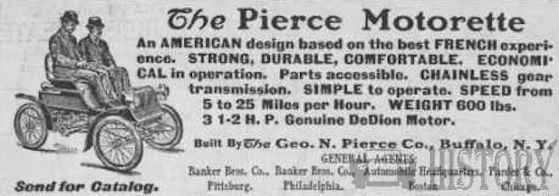 Pierce-Arrow Motor Car Company History  American Automotive manufacturer Buffalo, New York, United States From 1901 to 1938