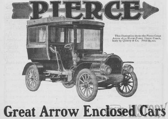 Pierce-Arrow Motor Car Company History