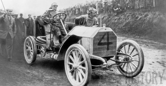90 hp Mercedes Simplex, Camille Jenatzy and the 1903 Gordon Bennett Trophy