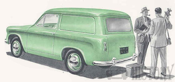 Commer Cob Van from 1956 to 1965