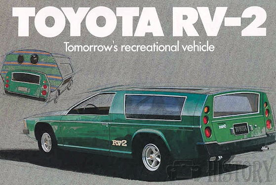 Toyota concept car RV–2