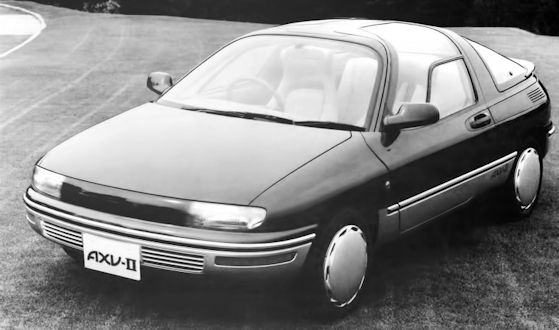 Toyota AXV-II Concept car  from 1987