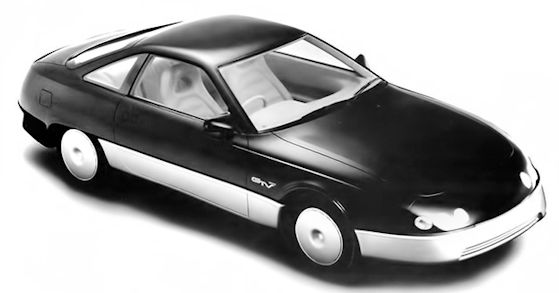 Toyota GTV concept car from 1987