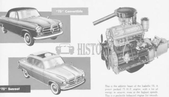 BorgWard Isabella 1954 to 1961