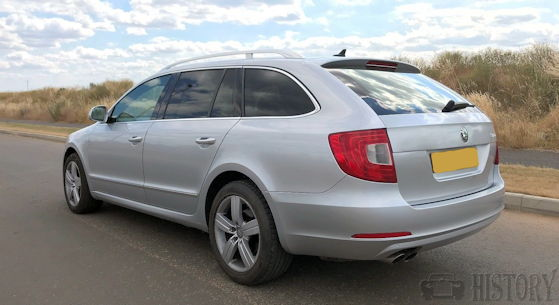 Škoda Superb B6, Typ 3T from 2008 to 2015