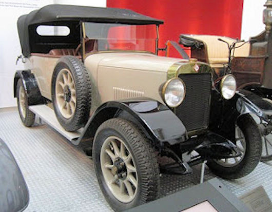 Pilot (Pilot-wagen AG)  Vehicle manufacturer Bannewitz Germany from 1922 to 1928