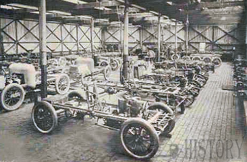 1904 Daimler factory uk