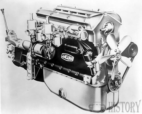 1949 Jaguar XK120 Engine