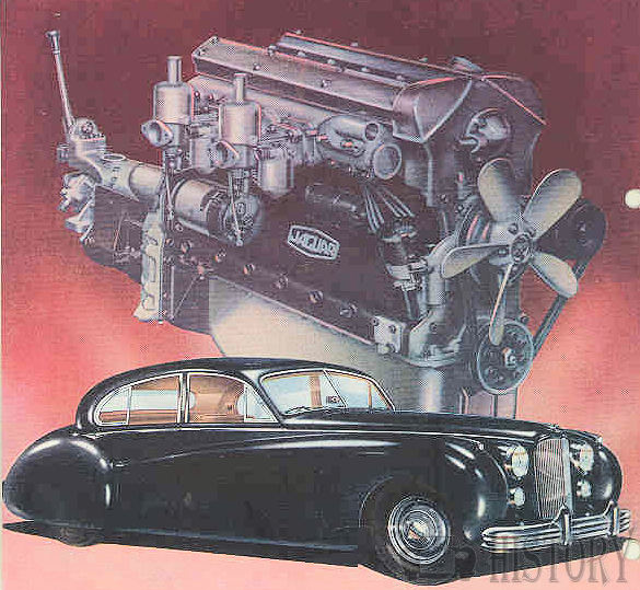 1951 Jaguar XK6 Engine
