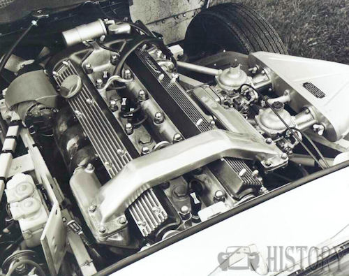 1968 Jaguar XKE 4 2 Engine