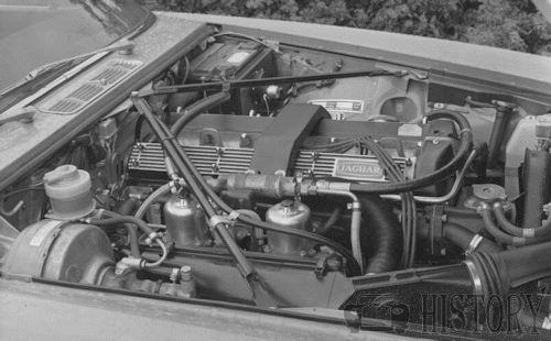 1974 Jaguar XK6 Engine