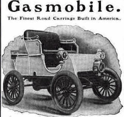 Gasmobile  American Automotive manufacturer.Marion, New Jersey USA From 1899 to 1902