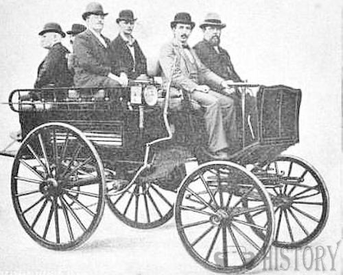 De La Vergne American Automotive manufacturer New York, USA From 1895 to 1896