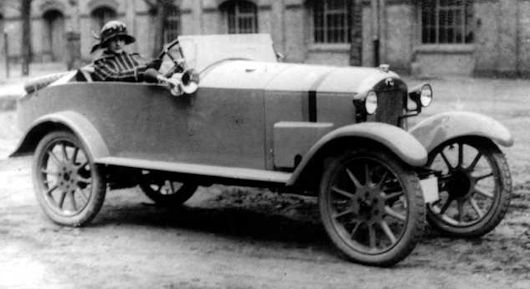 Vehicle manufacturer Eisenberg Thuringia Germany from 1920 to 1925