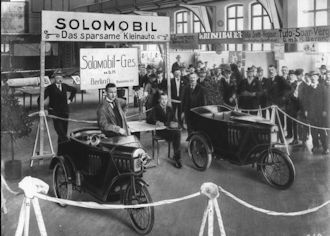 Solomobil  Vehicle manufacturer Berlin Germany from 1920 to 1923